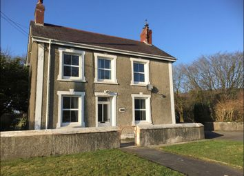 Thumbnail 3 bed detached house to rent in Llangybi, Lampeter