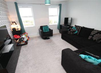 Thumbnail 2 bed flat for sale in Pioneer Court, Overcliffe, Northfleet., Kent
