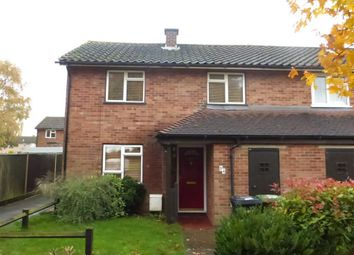 Thumbnail 2 bedroom end terrace house to rent in St Marys Avenue, Wittering, Peterborough