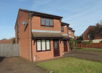 Thumbnail 2 bed semi-detached house for sale in Corina Court, Meir Hay, Stoke On Trent
