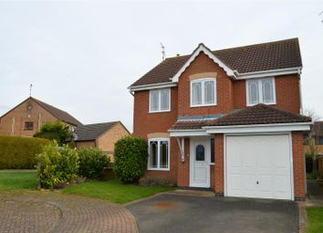 Thumbnail 4 bed detached house for sale in Alfred Close, Quarrington, Sleaford