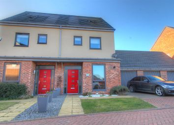 Thumbnail 3 bed semi-detached house for sale in Wooley Close, Elba Park, Houghton Le Spring