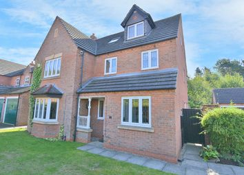 Thumbnail 6 bed detached house for sale in Oak View Rise, Mansfield, Nottinghamshire