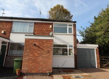 Thumbnail 3 bed end terrace house to rent in St. Edmunds Close, Wolverhampton