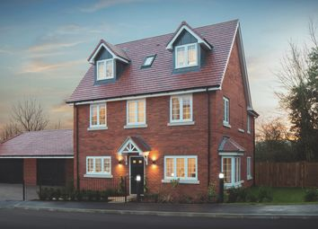 Thumbnail 4 bedroom detached house for sale in Plot 8 The Oatvale, Saddlers Lea, Exning Road, Newmarket
