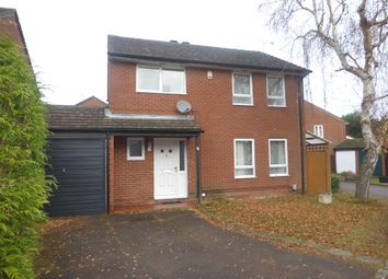Thumbnail 4 bedroom detached house for sale in Sawtry Close, Lower Earley, Reading