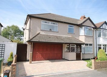 Thumbnail 5 bed semi-detached house for sale in Barrow Avenue, Carshalton, Surrey
