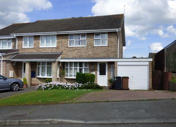 Thumbnail 3 bed semi-detached house for sale in Cavalry Drive, Daventry