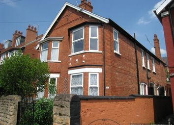 Thumbnail 4 bed semi-detached house to rent in Leslie Road, Nottingham