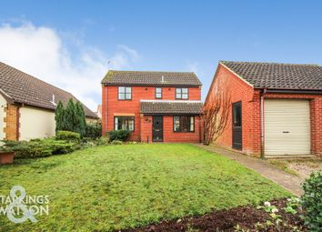 Thumbnail 3 bed detached house for sale in Poppy Close, Ditchingham, Bungay