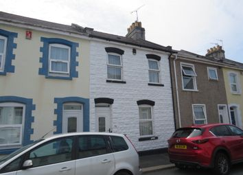 Thumbnail 3 bed terraced house for sale in Hotham Place, Stoke, Plymouth
