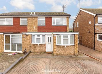 Thumbnail 3 bed semi-detached house for sale in Wych Elms, St Albans, Hertfordshire