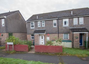 Thumbnail 3 bed end terrace house for sale in Legis Walk, Roborough, Plymouth