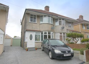 Thumbnail 3 bedroom semi-detached house for sale in Weston Mill Road, Plymouth