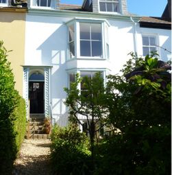 Thumbnail 4 bedroom terraced house to rent in Regent Terrace, Penzance