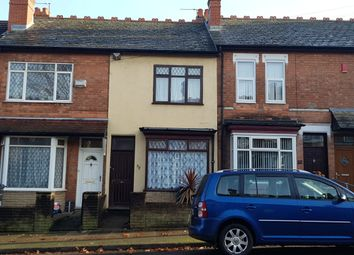 Thumbnail 3 bed terraced house for sale in Flora Road, Birmingham
