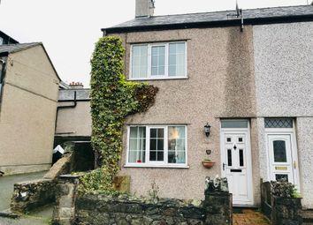 Thumbnail 3 bed end terrace house for sale in Port Terrace, Y Felinheli Gwynedd