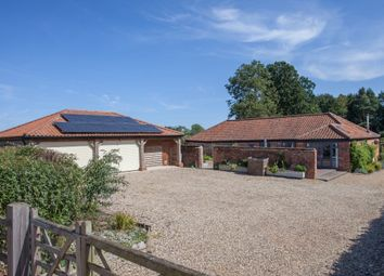 Thumbnail 4 bed barn conversion for sale in Nowhere Lane, Whitwell, Norwich
