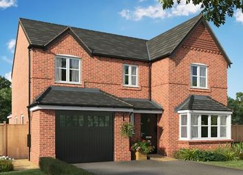 Thumbnail 4 bed detached house for sale in The Bramhall, Bruche Avenue, Warrington, Cheshire