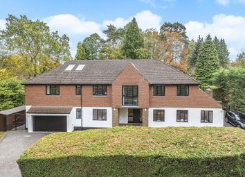 Thumbnail 7 bed detached house for sale in Golf Club Road, Hook Heath, Woking