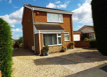 Thumbnail 3 bed detached house for sale in Highfields Drive, Bilsthorpe, Nottinghamshire