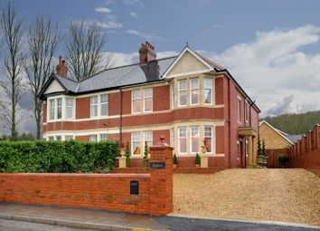 Thumbnail 4 bedroom semi-detached house for sale in Station Road, Llanwern, Newport