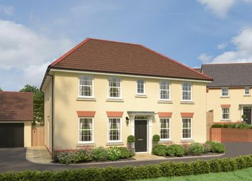 "Thumbnail 4 bed detached house for sale in ""Chelworth"" at Northfield Lane, Barnstaple"