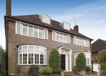 Thumbnail 6 bed detached house to rent in Deacons Rise, Hampstead Garden Suburb