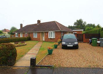 Thumbnail 3 bedroom semi-detached bungalow for sale in Adams Road, Norwich, Norfolk