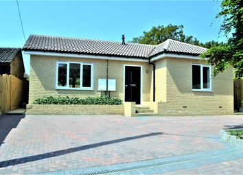 Thumbnail 2 bed detached bungalow for sale in Cambridge Road, Hardwick, Cambridge
