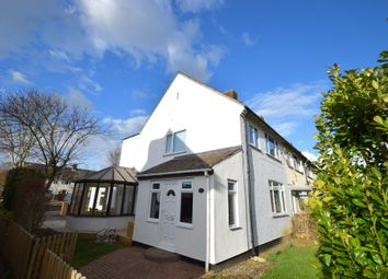 Thumbnail 3 bed end terrace house for sale in Poplar Walk, Stradishall, Newmarket