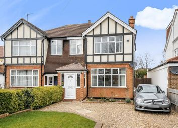 Thumbnail 3 bed semi-detached house to rent in Beresford Avenue, Berrylands, Surbiton
