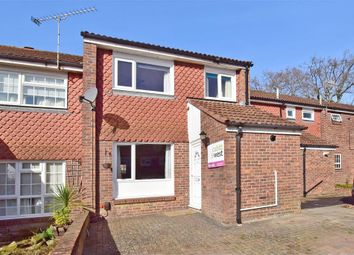 Thumbnail 3 bed terraced house for sale in Sandpiper Close, Ifield, Crawley, West Sussex