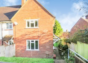 Thumbnail 2 bedroom end terrace house for sale in Pellbrook Road, Lewes
