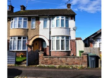 Thumbnail 3 bedroom semi-detached house for sale in St. Monicas Avenue, Luton