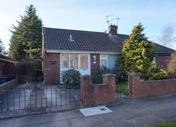 Thumbnail 1 bed semi-detached bungalow for sale in Barnes Drive, Liverpool
