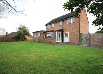 Thumbnail 3 bed detached house to rent in Perrycroft Close, Fernhill Heath, Worcester