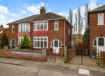 Thumbnail 3 bed semi-detached house for sale in Grange Avenue, Stockton-On-Tees