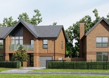 "Thumbnail 4 bed property for sale in ""Wickham"" at Kitsmead Lane, Longcross, Chertsey"