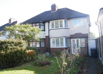 Thumbnail 3 bed semi-detached house for sale in Horse Shoes Lane, Birmingham