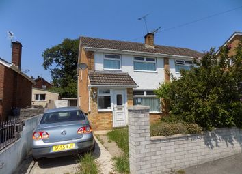 Thumbnail 3 bed semi-detached house for sale in Westminster Way, Cefn Glas, Bridgend.