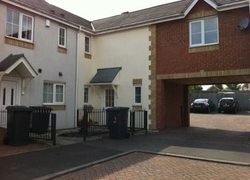 Thumbnail 2 bed terraced house to rent in Hatters Court, Bedworth, Warwickshire