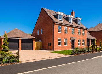 "Thumbnail 5 bed detached house for sale in ""Florentine House"" at Wedgwood Drive, Barlaston, Stoke-On-Trent"