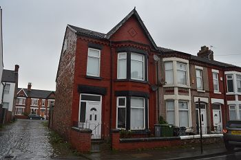 Thumbnail 3 bed end terrace house to rent in 38 Albermarle Road, Wallasey, Wirral
