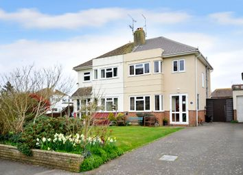 Thumbnail 4 bed semi-detached house for sale in Mersham Gardens, Goring-By-Sea, Worthing