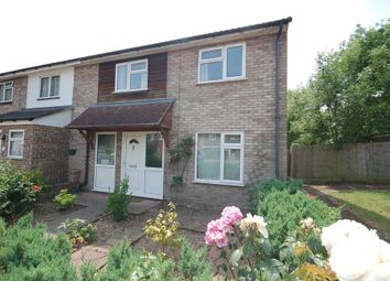 Thumbnail 3 bedroom end terrace house for sale in Bracken Road, Thetford