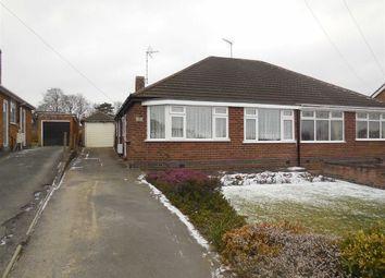 Thumbnail 2 bed semi-detached bungalow for sale in Sherwood Road, Stoke Golding, Nuneaton