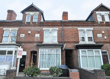 Thumbnail 4 bedroom terraced house for sale in Pershore Road, Selly Park, Birmingham