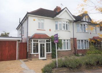 Thumbnail 4 bed semi-detached house for sale in Tring Ave, London