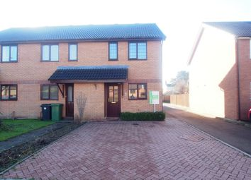 Thumbnail 2 bedroom semi-detached house for sale in Banister Way, Wymondham